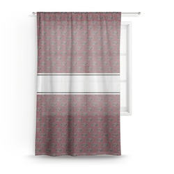 Pearland Oilers Sheer Curtains (Personalized)