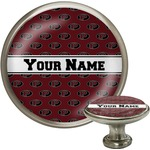 Pearland Oilers Cabinet Knob (Silver) (Personalized)