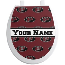Pearland Oilers Toilet Seat Decal (Personalized)
