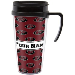 Pearland Oilers Travel Mug with Handle (Personalized)