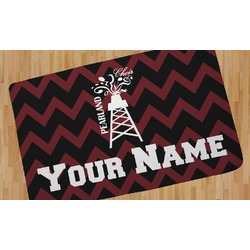 Chevron  Pearland Choir Area Rug (Personalized)
