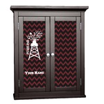 Chevron  Pearland Choir Cabinet Decal - Custom Size (Personalized)