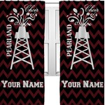 Chevron  Pearland Choir Curtains (2 Panels Per Set) (Personalized)