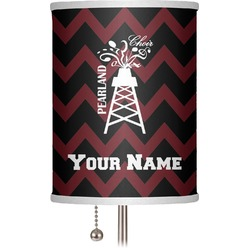 """Chevron  Pearland Choir 7"""" Drum Lamp Shade (Personalized)"""