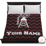 Chevron  Pearland Choir Duvet Cover (Personalized)
