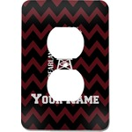 Chevron  Pearland Choir Electric Outlet Plate (Personalized)