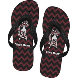 Chevron  Pearland Choir Flip Flops (Personalized)