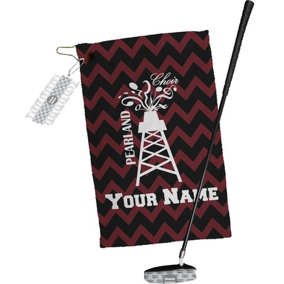 Chevron  Pearland Choir Golf Towel Gift Set (Personalized)