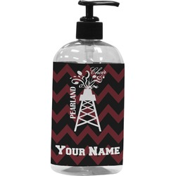 Chevron  Pearland Choir Plastic Soap / Lotion Dispenser (Personalized)