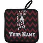 Chevron  Pearland Choir Pot Holder (Personalized)