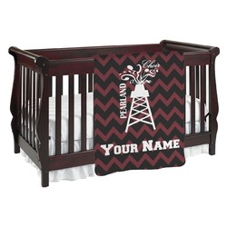 Chevron  Pearland Choir Baby Blanket (Personalized)