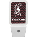 Chevron  Pearland Choir Night Light (Personalized)