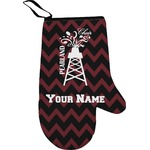 Chevron  Pearland Choir Right Oven Mitt (Personalized)