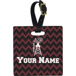 Chevron  Pearland Choir Square Luggage Tag (Personalized)