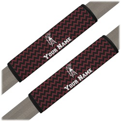 Chevron  Pearland Choir Seat Belt Covers (Set of 2) (Personalized)