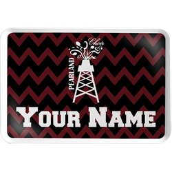 Chevron  Pearland Choir Serving Tray (Personalized)