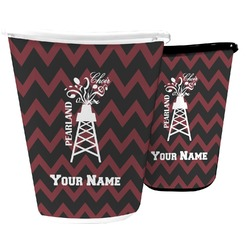 Chevron  Pearland Choir Waste Basket (Personalized)