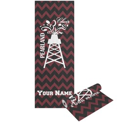 Chevron  Pearland Choir Yoga Mat - Printable Front and Back (Personalized)