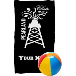 Pearland Choir Beach Towel (Personalized)