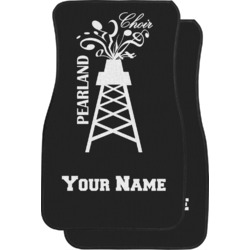Pearland Choir Car Floor Mats (Front Seat) (Personalized)