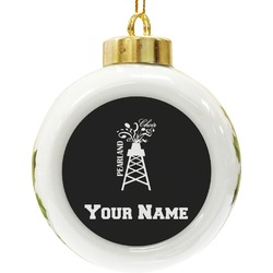 Pearland Choir Ceramic Ball Ornament (Personalized)