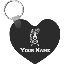 Pearland Choir Heart Keychain (Personalized)