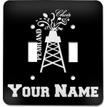 Pearland Choir Light Switch Cover (2 Toggle Plate) (Personalized)