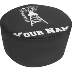 Pearland Choir Round Pouf Ottoman (Personalized)