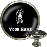 Pearland Choir Cabinet Knob (Silver) (Personalized)