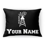 Pearland Choir Rectangular Throw Pillow (Personalized)