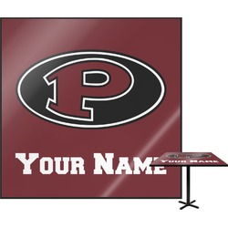 "Pearland Oilers ""P"" Square Table Top (Personalized)"