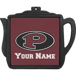 "Pearland Oilers ""P"" Teapot Trivet (Personalized)"