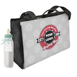 Logo & Tag Line Diaper Bag (Personalized)