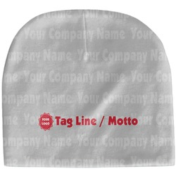 Logo & Tag Line Baby Hat (Beanie) (Personalized)