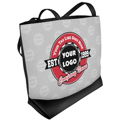 Logo & Tag Line Beach Tote Bag (Personalized)