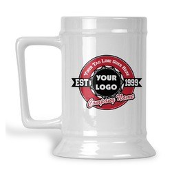 Logo & Tag Line Beer Stein (Personalized)