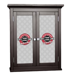Logo & Tag Line Cabinet Decal - Custom Size (Personalized)