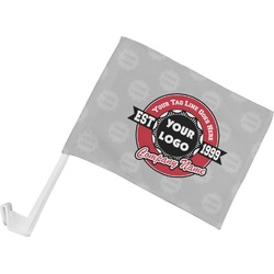 Logo & Tag Line Car Flag (Personalized)
