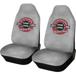 Logo & Tag Line Car Seat Covers (Set of Two) (Personalized)