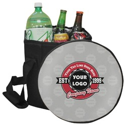 Logo & Tag Line Collapsible Cooler & Seat (Personalized)