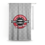 Logo & Tag Line Curtain (Personalized)