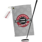 Logo & Tag Line Golf Towel Gift Set (Personalized)