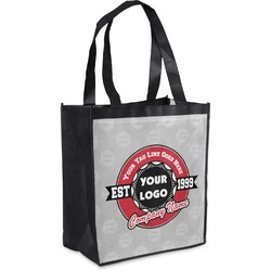 Logo & Tag Line Grocery Bag (Personalized)