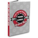 Logo & Tag Line Hardbound Journal (Personalized)