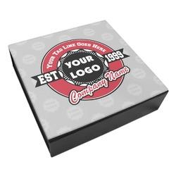 Logo & Tag Line Leatherette Keepsake Box - 3 Sizes (Personalized)