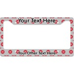 Logo & Tag Line License Plate Frame (Personalized)