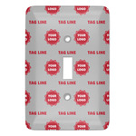 Logo & Tag Line Light Switch Covers (Personalized)
