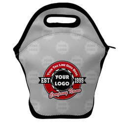 Logo & Tag Line Lunch Bag w/ Name or Text