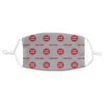Logo & Tag Line Adult Cloth Face Mask (Personalized)