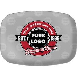 Logo & Tag Line Melamine Platter (Personalized)